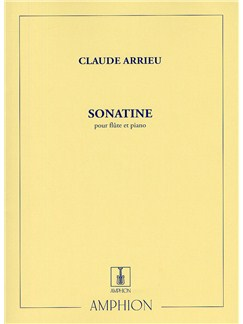Claude Arrieu: Sonatine For Flute And Piano Books | Flute, Piano Accompaniment