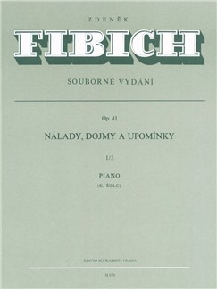 Z. Fibich: Moods, Impressions And Reminiscences Op.41 Volume 3 For Piano Books | Piano