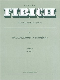 Z. Fibich: Moods, Impressions And Reminiscences Op.41 Volume 4 For Piano Books | Piano