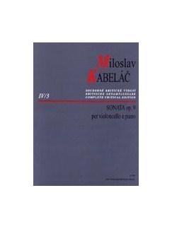 M. Kabelac: Sonata Op.9 For Cello & Piano Books | Cello, Piano Accompaniment
