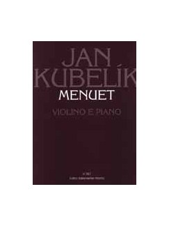 J. Kubelik: Minuet For Violin And Piano Books | Violin, Piano Accompaniment