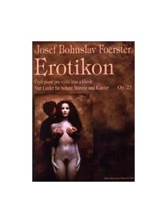 J. B. Foerster: Erotikon Op.23 (Voice & Piano) Books | Voice, Piano Accompaniment