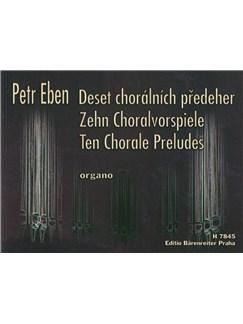 P. Eben: Ten Chorale Preludes For Organ Books | Organ