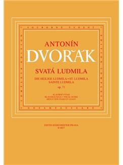 A. Dvorak: St. Ludmila Op.71 Books | Choral, Orchestra