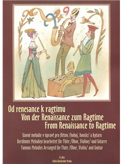 From Renaissance To Ragtime For Flute & Guitar Books | Flute, Acoustic Guitar