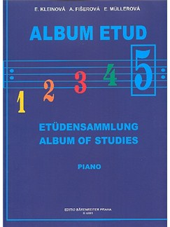 Album Of Studies V For Piano Books | Piano
