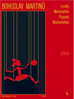 B. Martinu: Puppets II For Piano Books | Piano