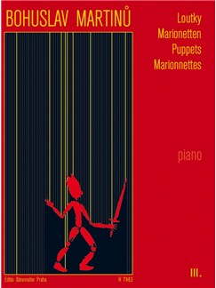 B. Martinu: Puppets III For Piano Books | Piano