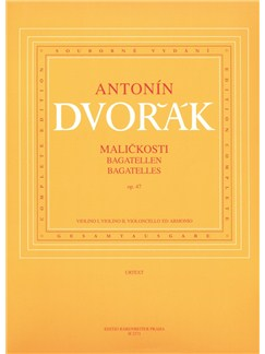 A. Dvorak: Bagatelles Op.47 For Piano Quartet Books | Piano Chamber