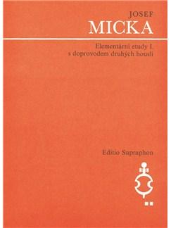 J. Micka: Elementary Studies I For Violin Books | Violin