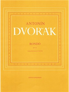 A. Dvorak: Rondo In G Minor Op.94 For Cello And Piano Libro | Cello, Acompañamiento de Piano