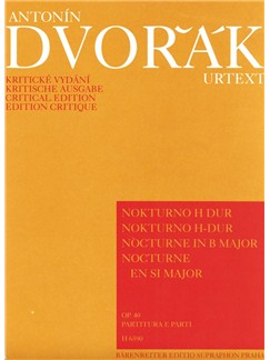 A. Dvorak: Nocturne In B Op.40 For String Quintet Books | Piano Chamber