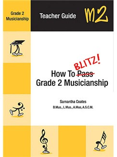 How to Blitz! Grade 2 Musicianship Teacher Guide Books |