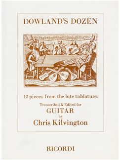 John Dowland: Dowland's Dozen (Guitar) Books   Guitar