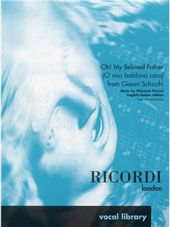 Giacomo Puccini: O Mio Babbino Caro (Gianni Schicchi) - Soprano and Piano Bog | Sopran, Klaverakkompagnement