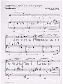 Giacomo Puccini: Nessun Dorma (Turandot) Books | Tenor, Piano Accompaniment