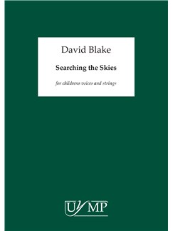 David Blake: Searching The Skies (Piano Score) Books | Piano Accompaniment