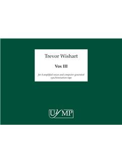 Trevor Wishart: Vox 3 Books | Voice (Quartet)