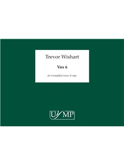 Trevor Wishart: Vox 6 Books | Voice (Quartet)