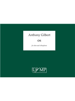 Anthony Gilbert: Os (Score) Books | Oboe, Vibraphone
