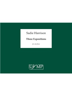 Sadie Harrison: Three Expositions Books | Flute