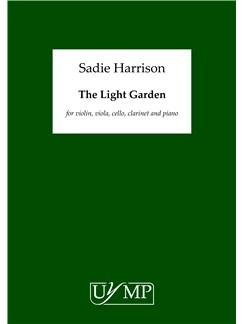 Sadie Harrison: The Light Garden - Score Books | Violin, Viola, Cello, Bass Clarinet, Clarinet, Piano Chamber