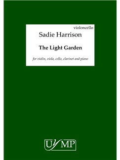 Sadie Harrison: The Light Garden - Parts Books | Violin, Viola, Cello, Bass Clarinet, Clarinet, Piano Chamber