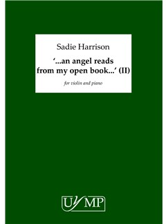 Sadie Harrison: '..an angel reads my open book..' (version II) Books | Violin, Piano Accompaniment