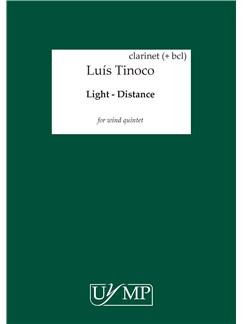 Luís Tinoco: Light - Distance (Parts) Books | Wind Quintet