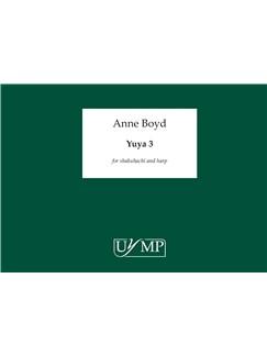 Anne Boyd: Yuya 3 Books | Shakuhachi, Harp