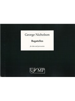 George Nicholson: Bagatelles Books | Oboe, Oboe d'Amore, Cor Anglais, Percussion