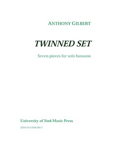 Anthony Gilbert: Twinned Set Books | Bassoon