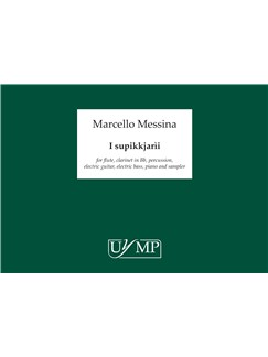 Marcello Messina: I supikkjarìi (Score/CD) Books | Ensemble