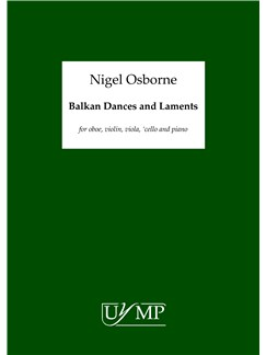 Nigel Osborne: Balkan Dances And Laments (6 Performance Scores) Books | Oboe, Violin, Viola, Cello, Piano Chamber