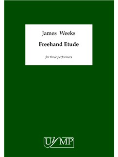 James Weeks: Freehand Etude Books | Voice (Trio)