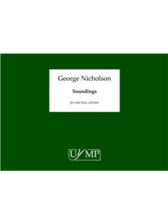 George Nicholson: Soundings Books | Bass Clarinet