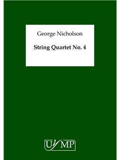 George Nicholson: String Quartet No.4 (Score) Books | String Quartet