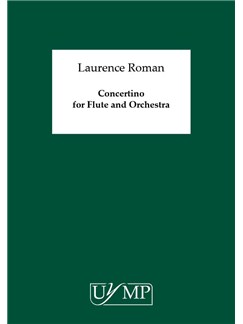 Laurence Roman: Concertino For Flute And Orchestra Buch | Querflöte, Orchester