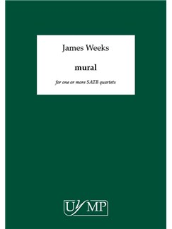 James Weeks: mural Books | SATB (Quartet)