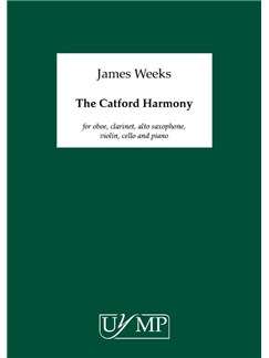 James Weeks: The Catford Harmony Books | Oboe, Clarinet, Alto Saxophone, Violin, Cello, Piano Chamber