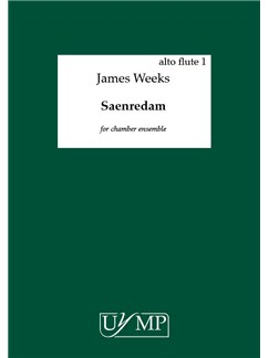 James Weeks: Saerendam (Parts) Books | Chamber Group