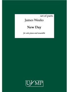 James Weeks: New Day (12 Performing Scores) Books | Piano, Ensemble