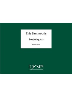 Evis Sammoutis: Sculpting Air (Performing Score) Books | Soprano, Mezzo-Soprano, Tenor, Bass Voice, Baritone Voice