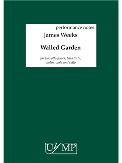 James Weeks: Walled Garden (Performing Score) Books | Ensemble