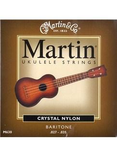 Martin: M630 Baritone Ukulele Strings  | Ukulele