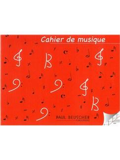 Cahier De Musique À 6 Portées  | All Instruments