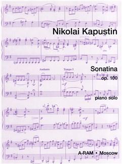 Nikolai Kapustin: Sonatina Op.100 Books | Piano