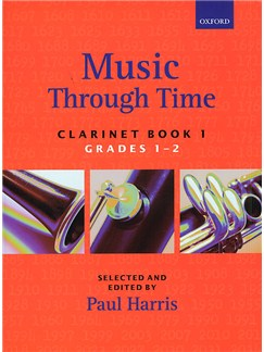 Music Through Time: Clarinet Book 1 Books | Clarinet, Piano Accompaniment