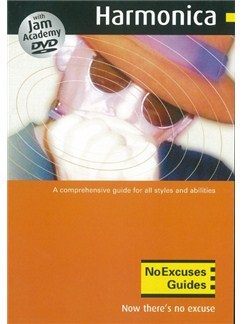 No Excuses Harmonica Guide CD-Roms / DVD-Roms and DVDs / Videos | Harmonica