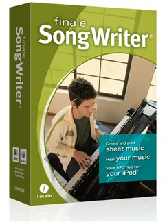 Finale: SongWriter 2012 (Retail) CD-Roms / DVD-Roms |
